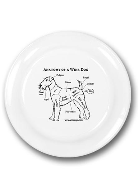 Wine Dogs Frisbee