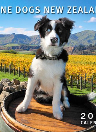 Wine Dogs NZ 2017 Calendar
